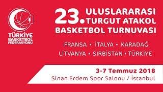 Türkiye - Karadağ 23.Turgut Atakol Turnuvası