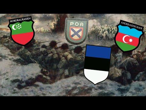 ТОП иностранных легионов Вермахта созданных на территории СССР