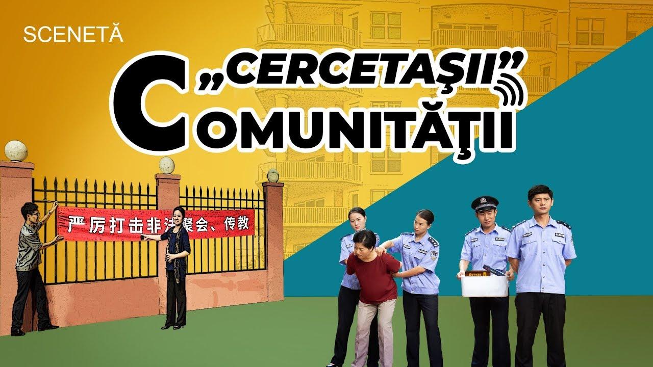 """Scenetă creștină """"«Cercetaşii» comunităţii"""""""