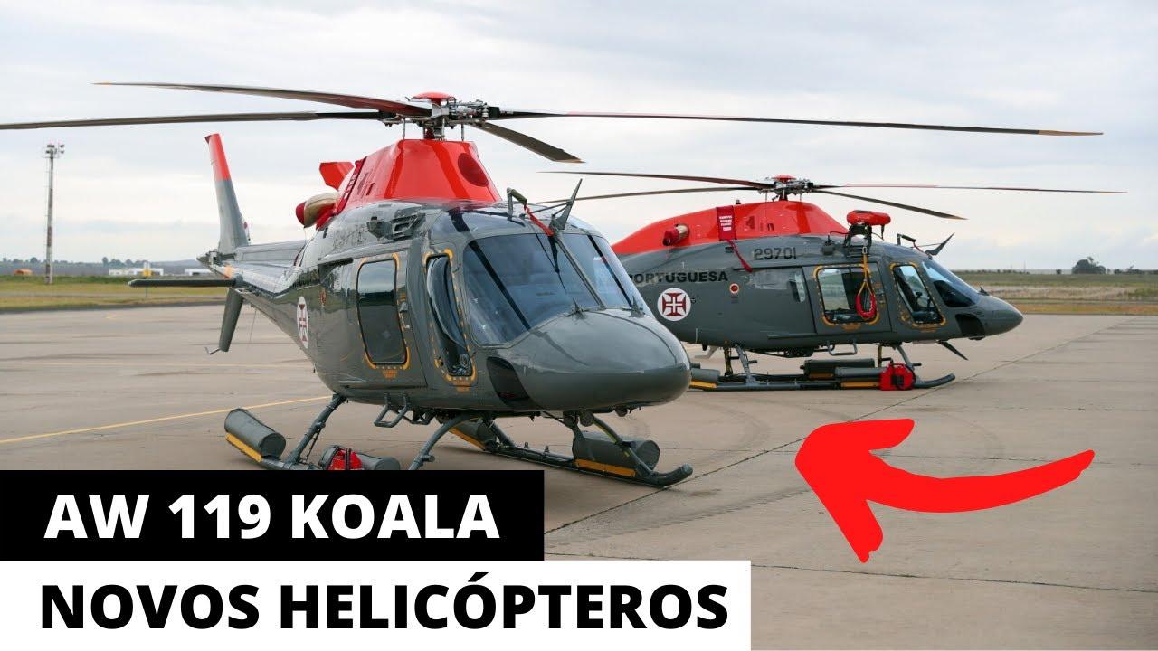 NOVOS HELICÓPTEROS AW119 KOALA EM MISSÃO