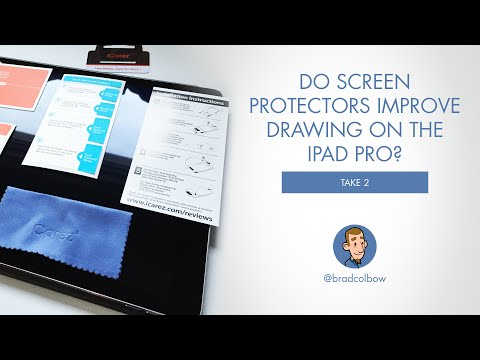 do-screen-protectors-make-drawing-on-the-ipad-pro-better?-(take-2-review)