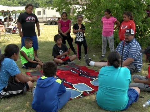 Ojibwe Language & Cultural Camp Connects Members With Their History