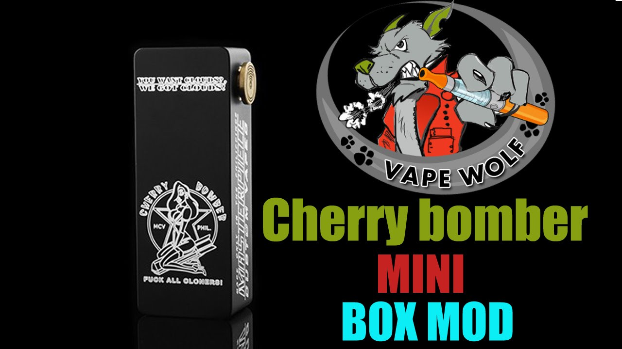 cherry bomber box mod instructions