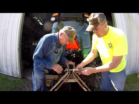 Land Pride Soil Pulverizer Fix for Quick Hitch - Compact Tractor Deere 3320/3033r