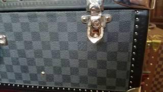 Louis Vuitton Alzer 70 Damier Graphite Trunk Suitcase Iconic Dream Piece!