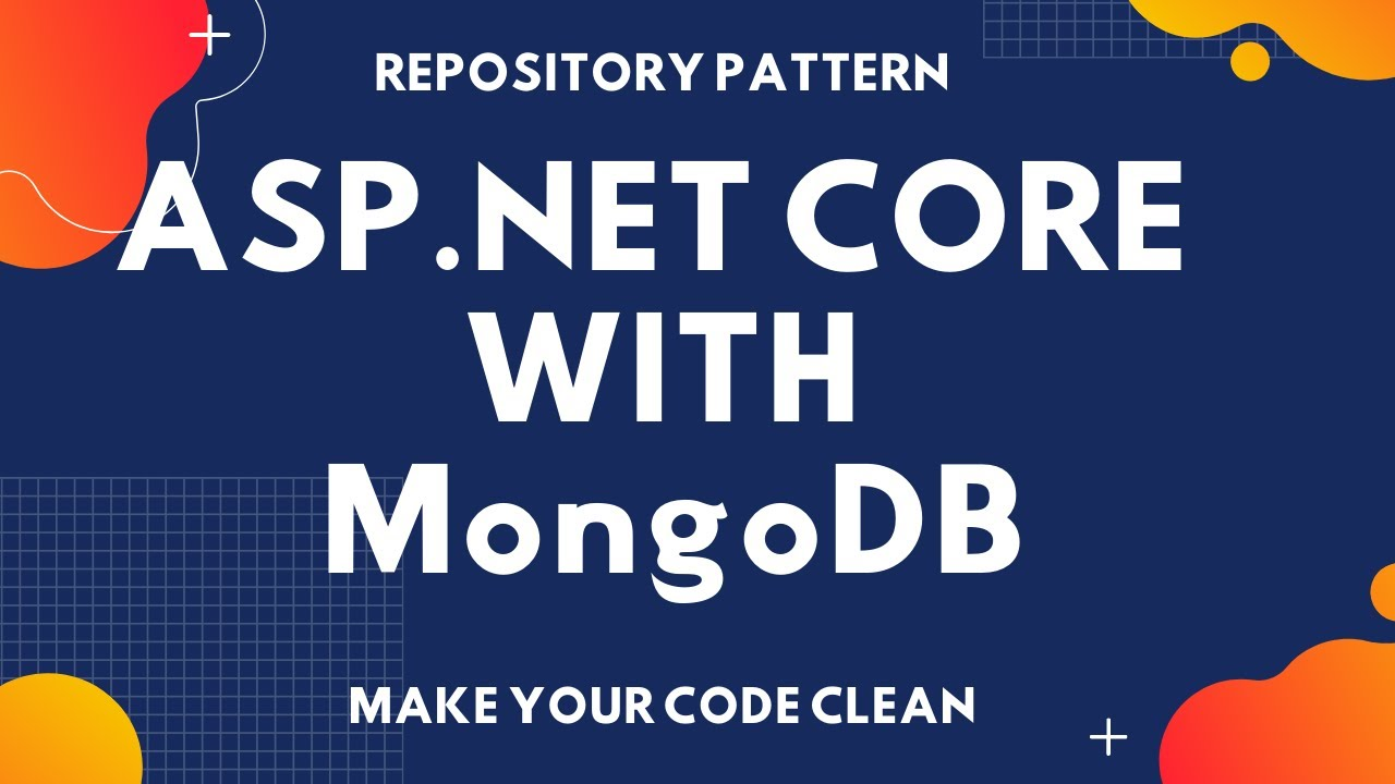 Configuration MongoRepo Package in Asp.Net Core MVC 5 with MongoDB for Repository Pattern