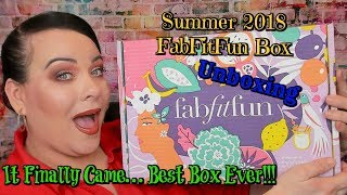 Finally...Best Box Ever!!! // FabFitFun Summer Box