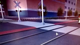Railroad crossing sound Roblox pt 5 Romania