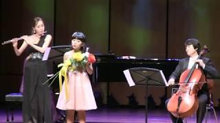 천개의 바람되어 노래:박소현 피아노Trio 첼로:오승석 플륫:김은송 피아노:성명옥