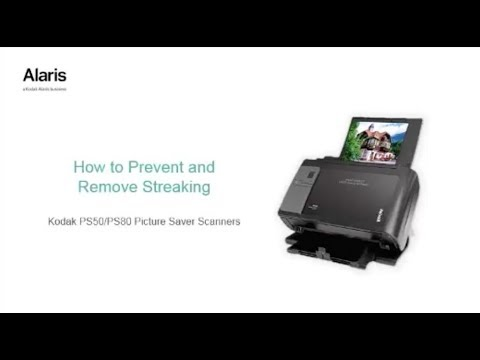 Preventing Streaks with the Kodak Picture Saver Scanning System PS50/PS80
