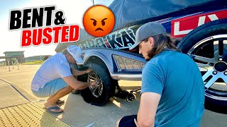 BOAT TRAILER vs. CURB - Bassmaster Opens #2 Travel Vlog