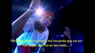 Eminem ft. Dido - Stan Traducida y Subtitulada al Español [HD - Live in London]