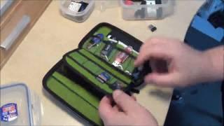 Estarer USB Flash Drives Bag Case Review,  Excellent card and stick holder