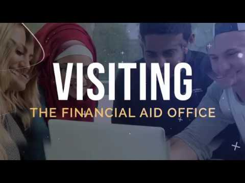 Visiting the Financial Aid Office