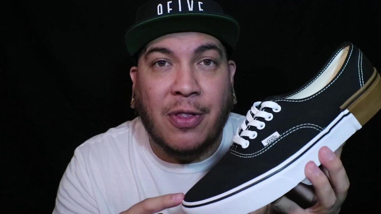 2018 Vans Authentic Gum Block Pack Review + On Feet - YouTube 68bf253ac