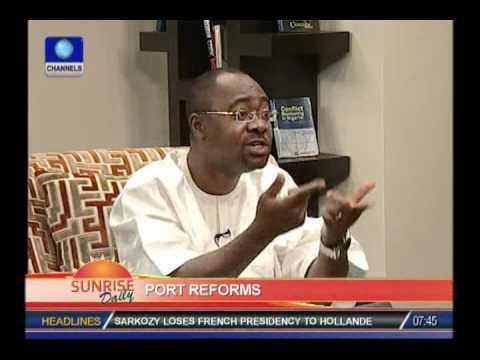 Sylvester Monye speaks on port reforms in Nigeria
