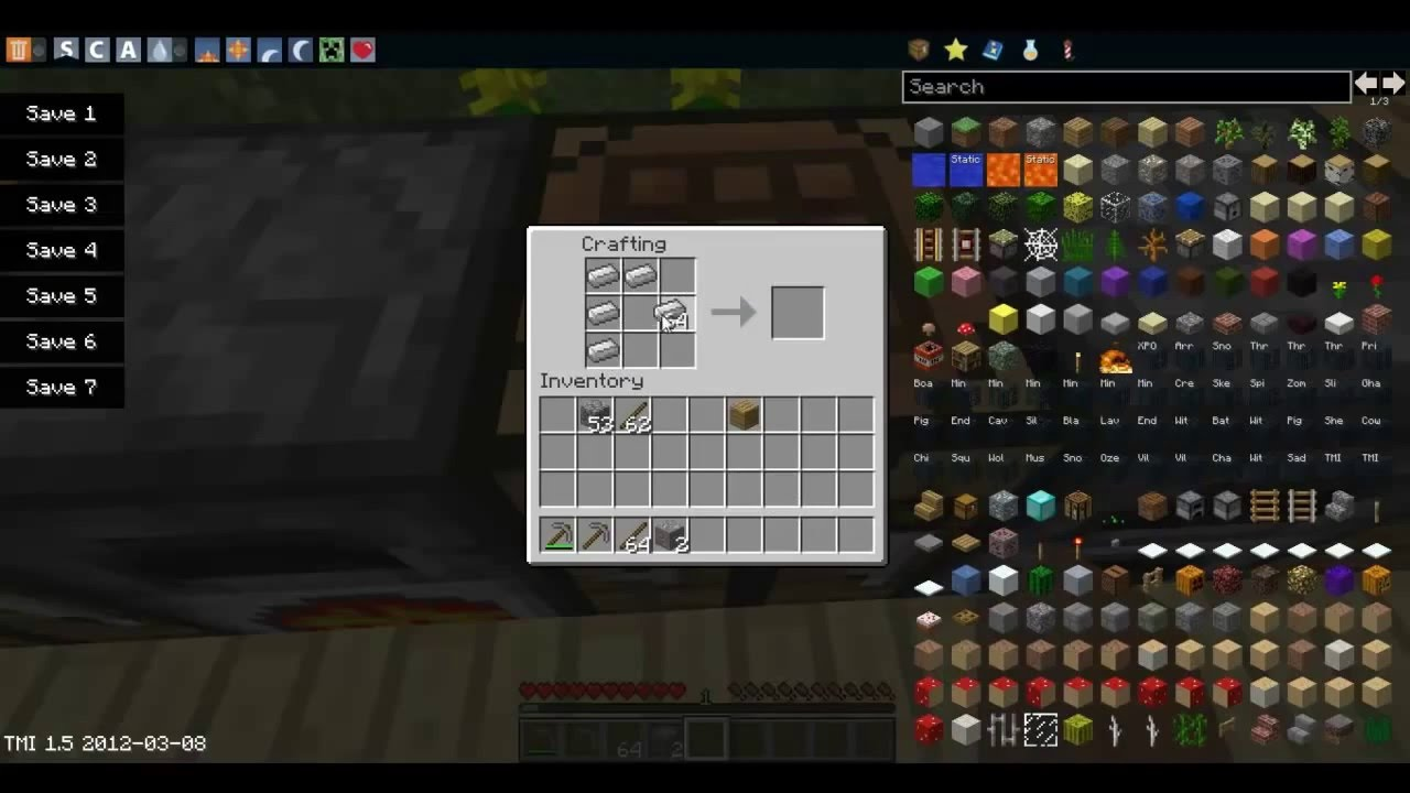 how to make anvil in minecraft pe