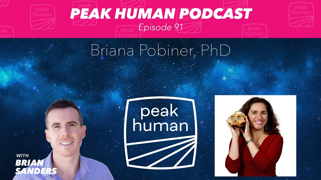Meat-Eating Throughout Human History w/ Briana Pobiner, PhD - Peak Human Podcast