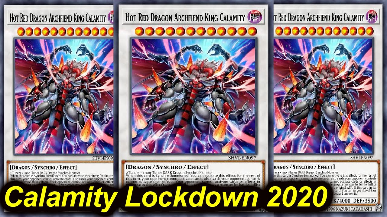 【YGOPRO】CALAMITY LOCKDOWN DECK JULY 2020