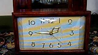 Vintage Westminster Chime Electric Clock
