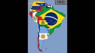 Download South America: Timeline of National Flags: 1600 - 2018 Mp3 and Videos