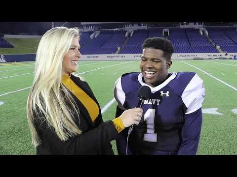 2019 Navy Sprint Football 1on1 Postgame Interview - Caleb Champion