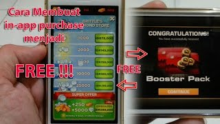 Membuat In-App Purchase Berbayar Menjadi Free