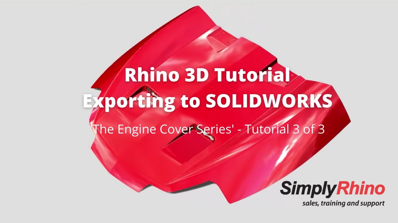 Rhino3d tutorial engine cover exporting to solidworks 3 of 3 rhino3d tutorial engine cover exporting to solidworks 3 of 3 baditri Choice Image