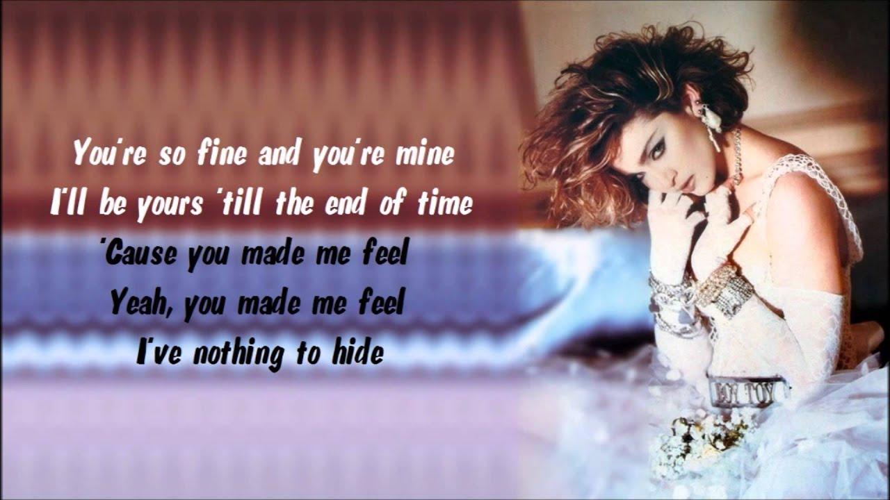 Madonna - Like a Virgin Karaoke / Instrumental with lyrics on screen