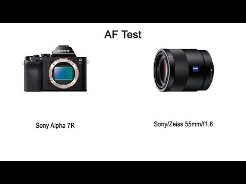 AF-Test (Sony A7R + Zeiss 55mm/f1.8)