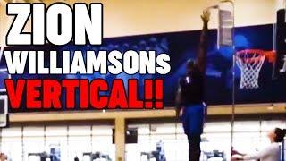 Zion Williamsons's VERTICAL!!! (Dunk Week Recap)