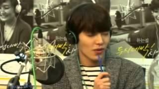 Kim Woo Bin fake singing to Yoon Do Hyun 39 s The Way cute dance