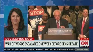 Tulsi Gabbard: Important for Bernie Sanders to contrast himself with Clinton