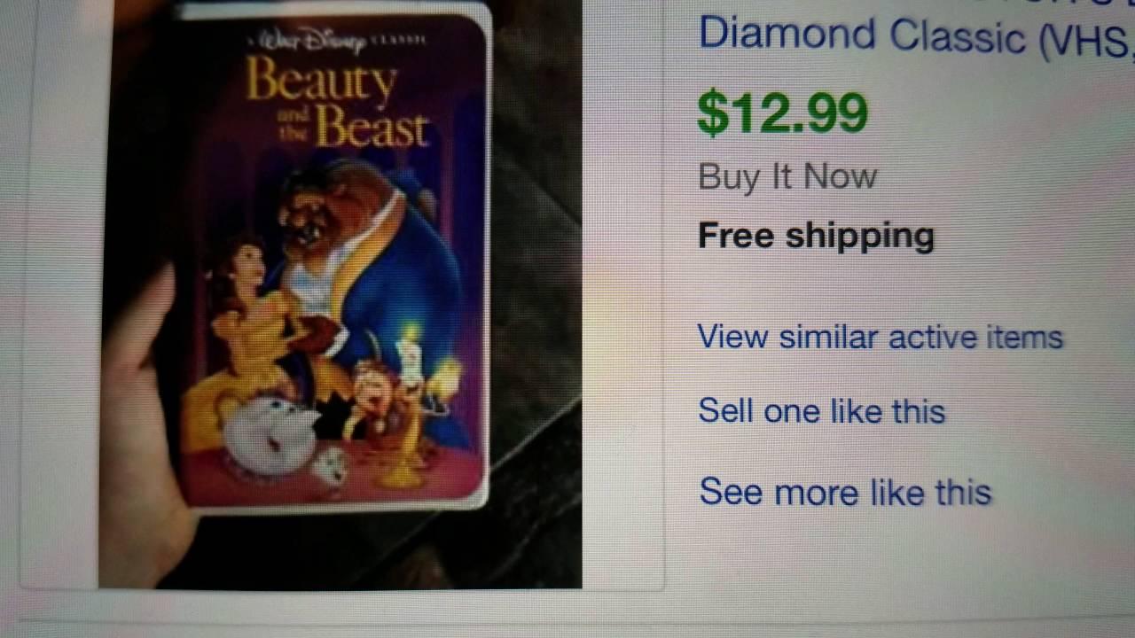 Disney beauty and the beast diamond edition 2 disc blu-ray & bonus.