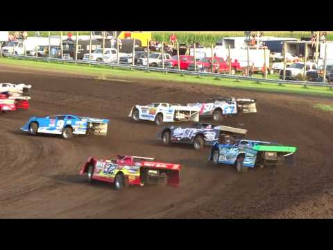IMCA Late Model Heat Benton County Speedway 8/6/17
