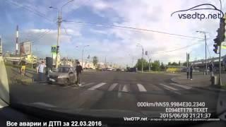 Дорожные войны - все аварии и ДТП за 22.03.2016