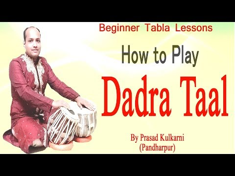 Tabla Lesson #19( Learn To Play DADRA Taal)