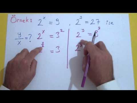Üslü Sayılar 5 Şenol Hoca Matematik