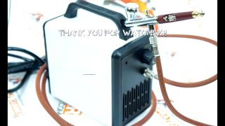 Review and test Sparmax Arism Mini small air compressor for airbrushing