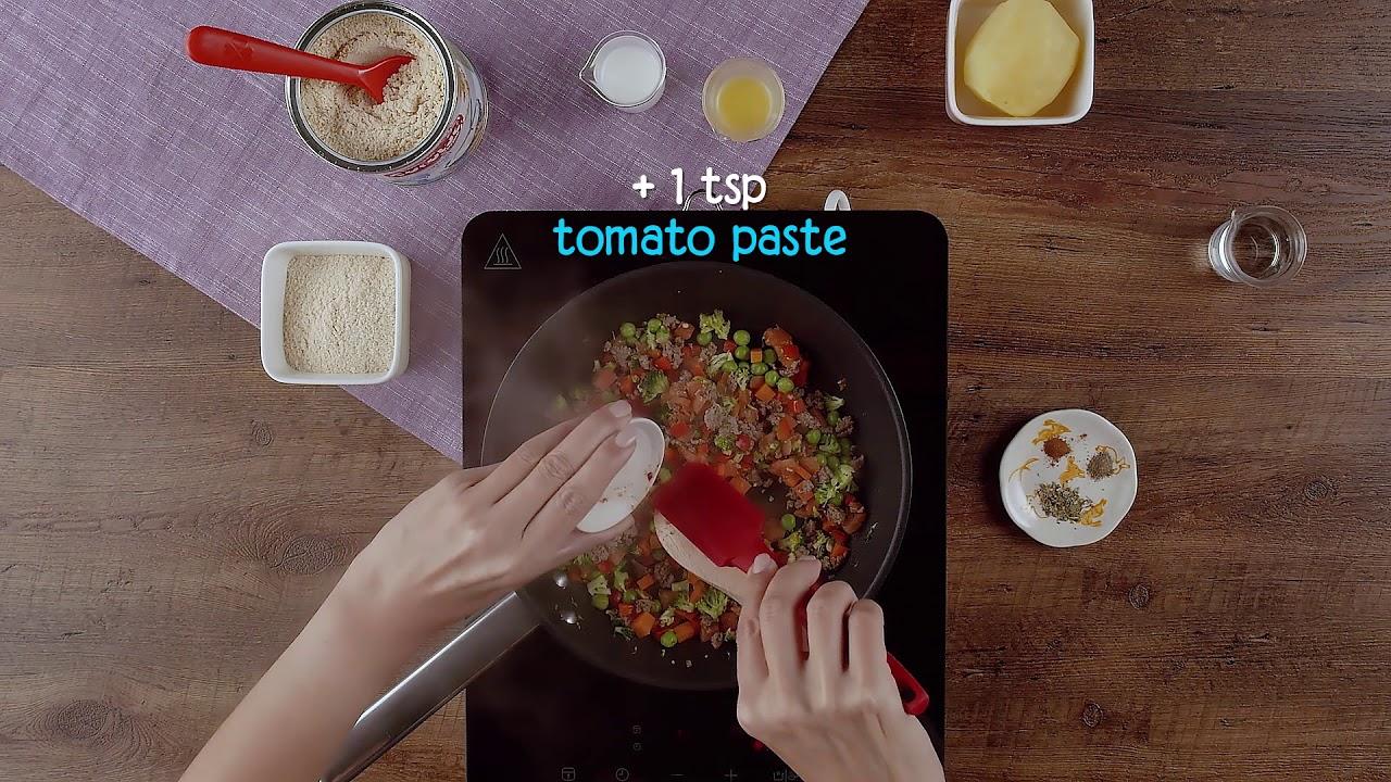 Baby recipe CERELAC Minced Beef Pie - YouTube