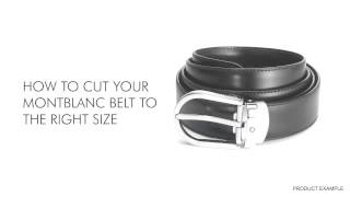 Montblanc Belt at Berry's Jewellers