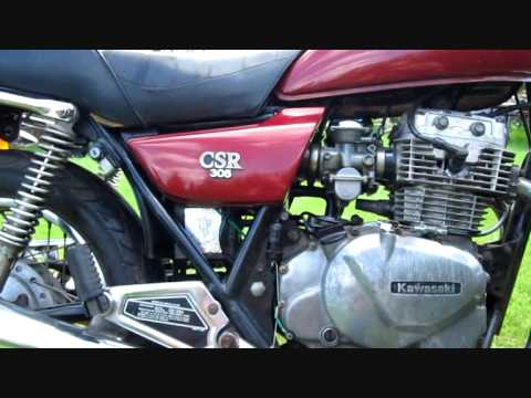kawasaki kz 305 csr.wmv - youtube