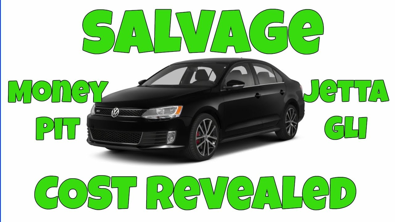 How I LOST a LOT of MONEY Rebuilding a SALVAGE Car: When a Rebuild ...