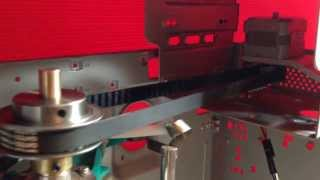 Inductor roller controlled by stepper motors driver by IZ7PDX