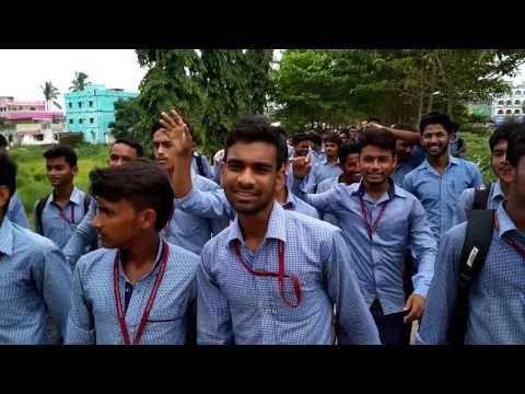 Strike at kendrapara autonomous college arranged by students'union president PRASANJIT KUND
