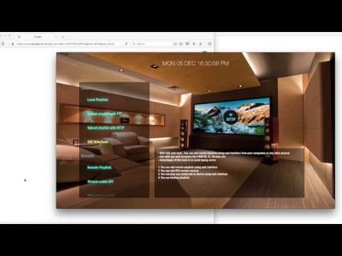 GSE SMART IPTV APPLE TV 4 WEB INTERFACE PLAYLIST MANAGEMENT PREVIEW