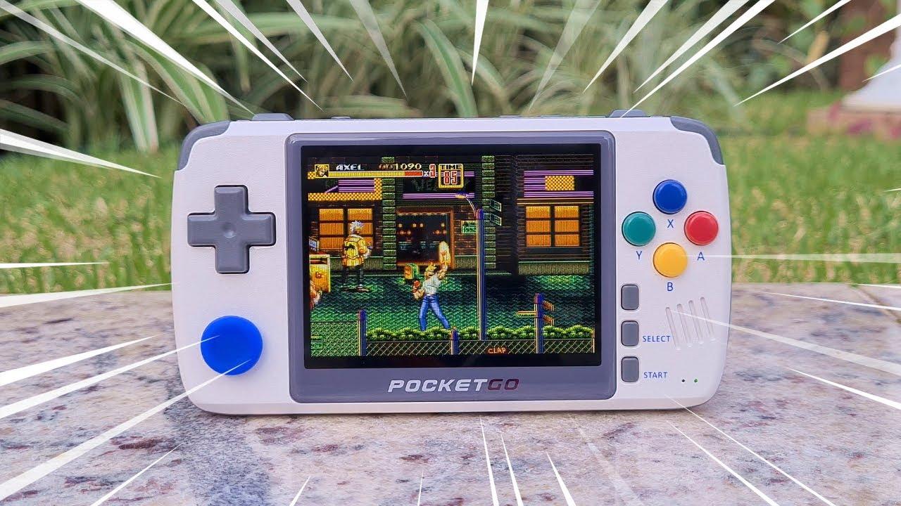 Importei o New Pocket GO V2 do Ali Express. Melhor que o RG350? (Review)