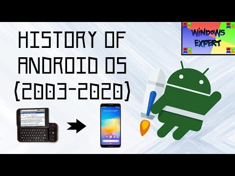 HISTORY OF ANDROID.INC OS [2003-2020]