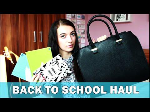 #1 BACK TO SCHOOL | HAUL: przybory szkolne