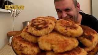 Капустные котлеты. Готовим вместе постное блюдо.(RAMBOVtv делится секретом приготовления прекрасного постного блюда - котлеток капустных. Абсолютно легкое..., 2015-03-13T20:00:09.000Z)